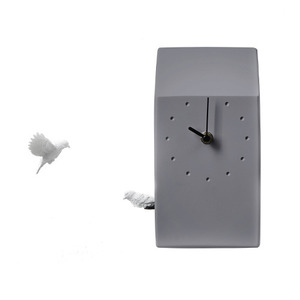 CUCKOO X CLOCK - HOME (DARK GREY)