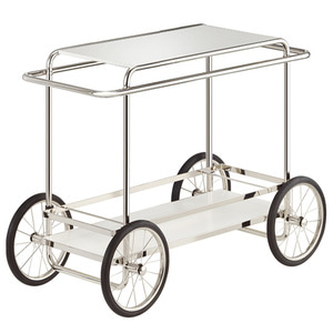 M4R CONSOLE TROLLEY - WHITE