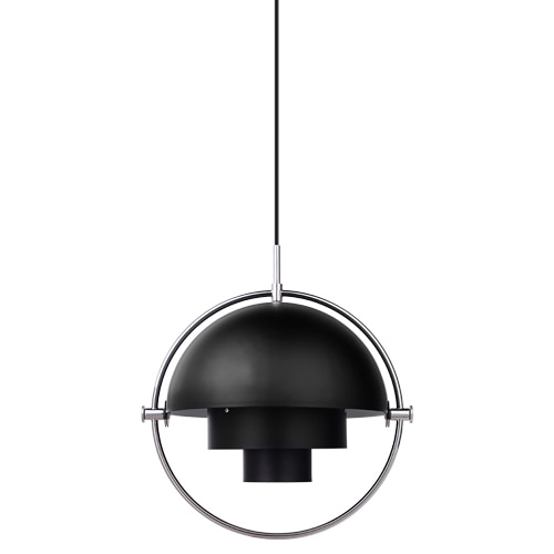 MULTILITE PENDANT - BLACK / CHROME (재고문의)