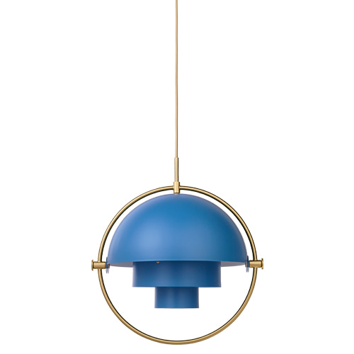MULTILITE PENDANT - BLUE / BRASS  (재고문의)