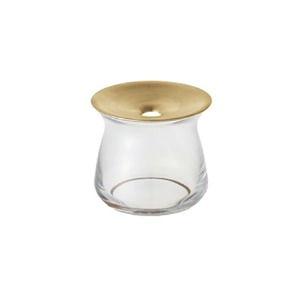 LUNA GLASS VASE SMALL - CLEAR (3-7일 소요)
