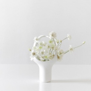 HEIRLOOM VASE 1 - WHITE (바로배송)