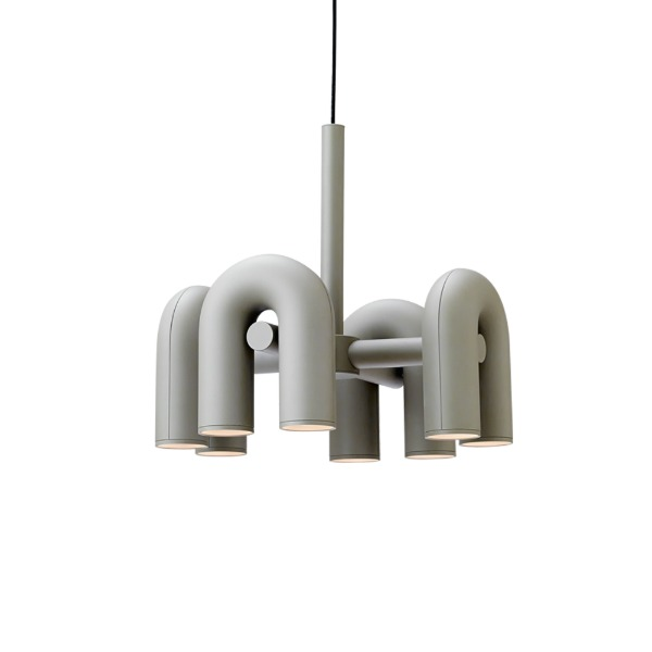 CIRKUS CHANDELIER SMALL - GREY