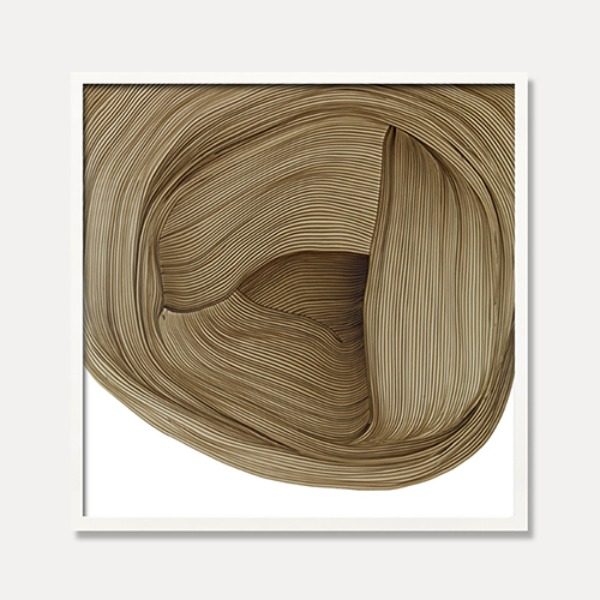 RONAN BOUROULLEC — DRAWING 5, BROWN (액자포함)