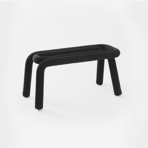 MOUSTACHE BOLD BENCH -BLACK (바로배송)