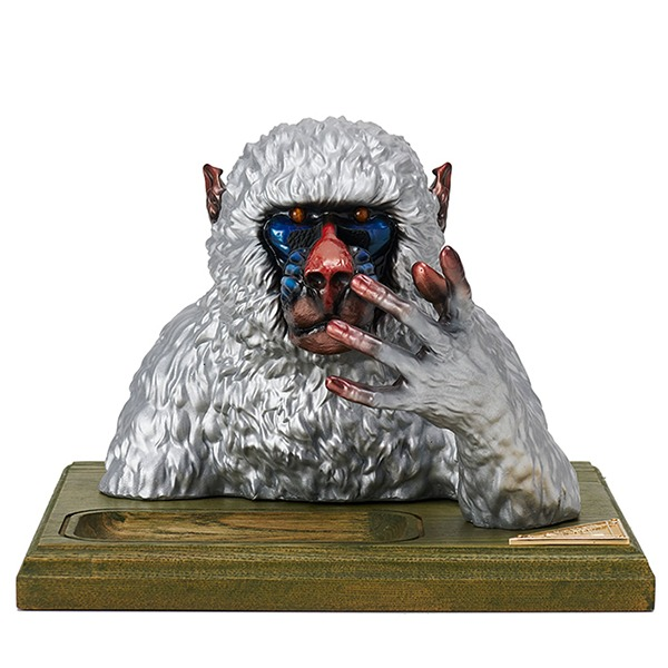 MANDRILL GLASSES & JEWERLY HOLDER (SILVER)