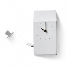 CUCKOO X CLOCK - HOME (LIGHT GREY)