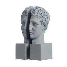 BOOKEND HERMES (SET OF 2) - STONE
