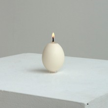 HEN EGG CANDLE - WHITE (11월 입고)