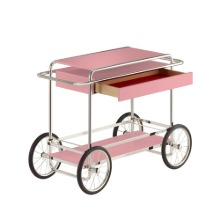 M4RS CONSOLE TROLLEY WITH DRAWER - PINK