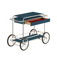 M4RS CONSOLE TROLLEY WITH DRAWER - NAVY