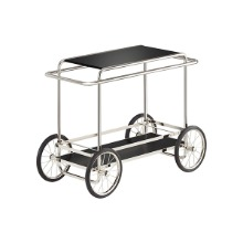 M4R CONSOLE TROLLEY - BLACK (WITH BOTTLE HOLDER)