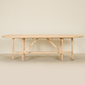 CANE COLLECTION TABLE - NATURAL