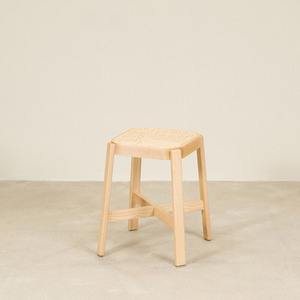 CANE COLLECTION LOW STOOL (X LEG) (6 COLORS)