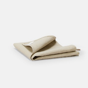 HEAVY LINEN KITCHEN CLOTH - SAND BEIGE