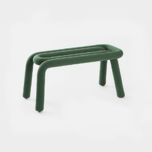 MOUSTACHE BOLD BENCH - FOREST GREEN