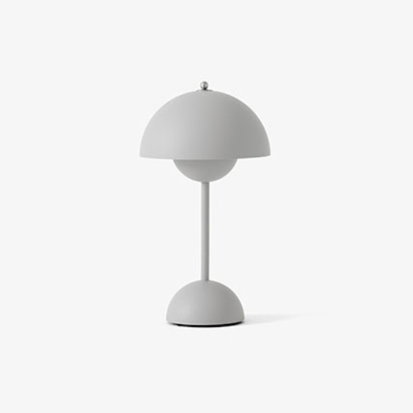 FLOWERPOT VP9 PORTABLE LAMP - MATT LIGHT GREY