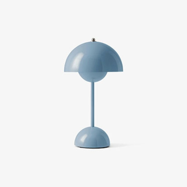FLOWERPOT VP9 PORTABLE LAMP - LIGHT BLUE