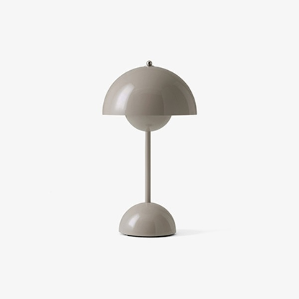 FLOWERPOT VP9 PORTABLE LAMP - GREY BEIGE