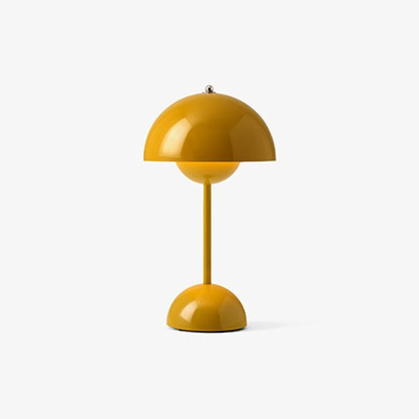 FLOWERPOT VP9 PORTABLE LAMP - MUSTARD