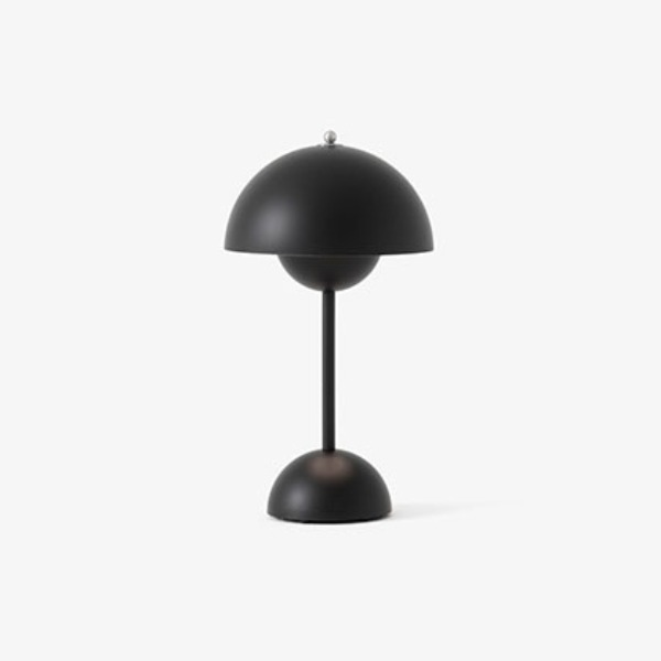FLOWERPOT VP9 PORTABLE LAMP - MATT BLACK