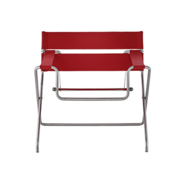 D4 BAUHAUS CHAIR - RED LEATHER 1