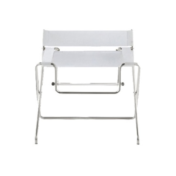 D4 BAUHAUS CHAIR - PURE WHITE / LEATHER 1