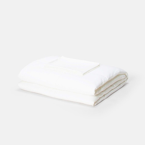 EXTRASOFT COMFORTER 4 - CLOUD WHITE (일상직물 차렵이불)