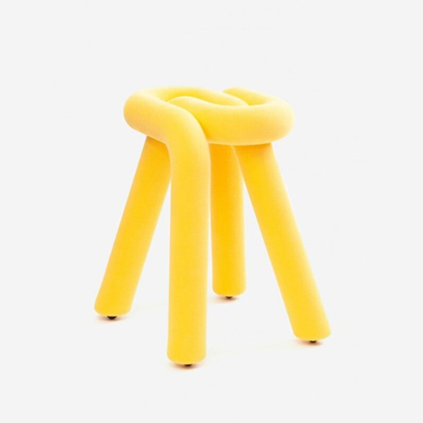 MOUSTACHE BOLD STOOL - YELLOW (바로배송)