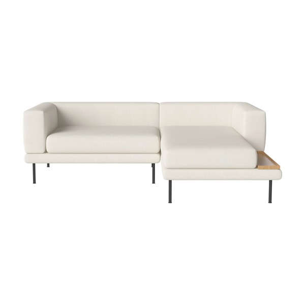 JEROME 2 UNITS WITH CHAISE LONGUE TO THE LEFT OR RIGHT - ASCOT / IVORY