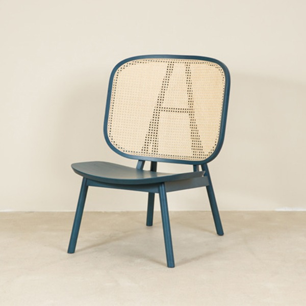 CANE COLLECTION LOUNGE CHAIR - OCEAN BLUE (*DP상품 30%)