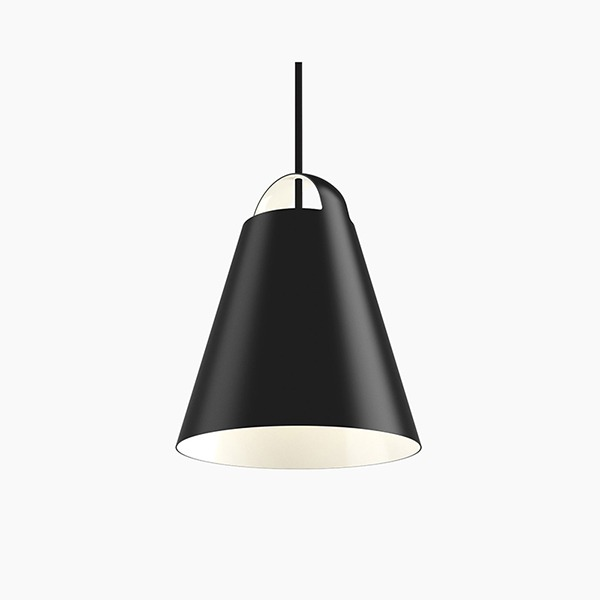 ABOVE PENDANT LAMP - BLACK (4 size)