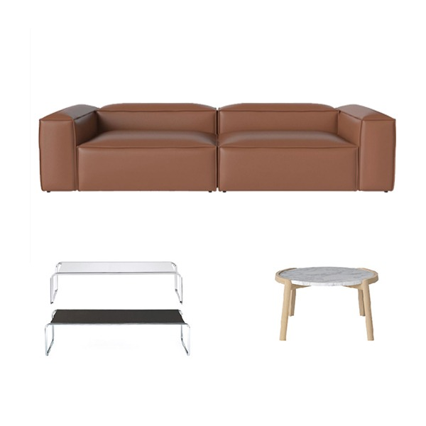 [PROMOTION] COSIMA SOFA PROMOTION ( TECTA K1C or BOLIA MIX COFFEE TABLE 증정)