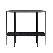PONT CONSOLE TABLE - BLACK/BLACK (도산점 DP상품)