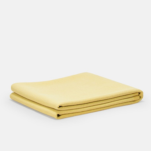 YELLOW COTTON PAD - SOFT YELLOW