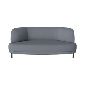 GRACE 2 SEATER SOFA MIRA - STONE BLUE